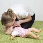 Infant CPR breathing